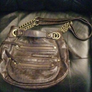 Nine West Purse w/Chain Strap & Tons of Pockets